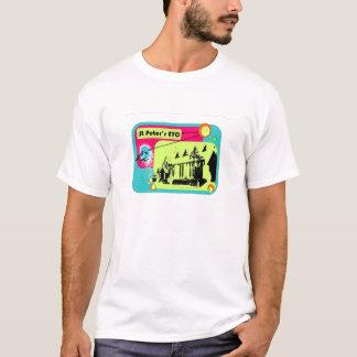 St Petersのeycの写実的なティー2 Tシャツ