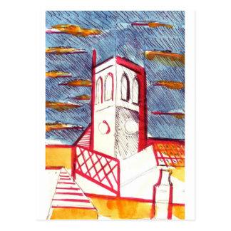 St Peters教会、ブライトン ポストカード