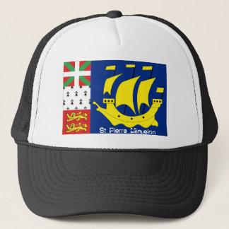 St Pierre Miquelonの旗の記念品の帽子 キャップ