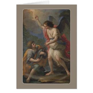St. Raphaelの大天使およびトビアス カード