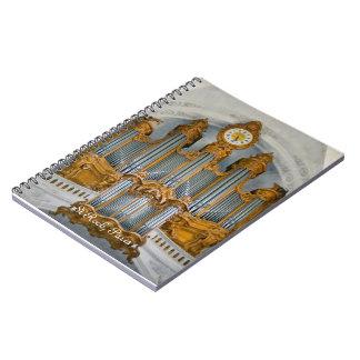 St Roch器官のノート ノートブック