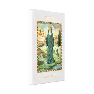 St. Scholastica及びSt.ベネディクト キャンバスプリント