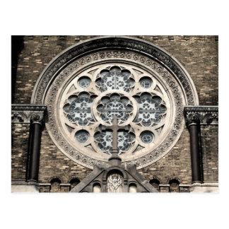 St. Stanislaus教会窓の郵便はがき ポストカード