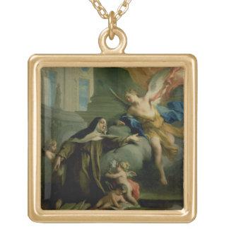 St Teresaの視野 ゴールドプレートネックレス