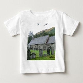 St Tydecho Llanmawddwy教会、ウェールズ ベビーTシャツ