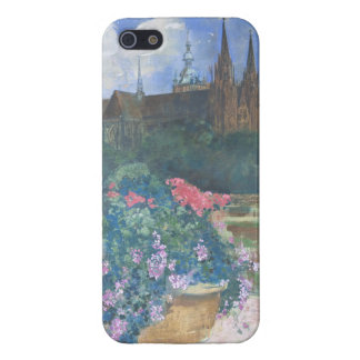 St.VitusのカテドラルプラハStanislav Stanek iPhone 5 Cover