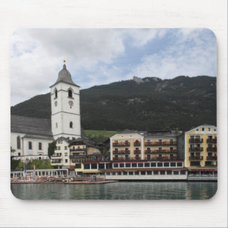 St.Wolfgang AM Wolfgangsee、ザルツブルクÖsterreich マウスパッド