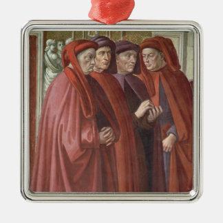 St. Zacharias (フレスコ画)への告知(詳細 メタルオーナメント
