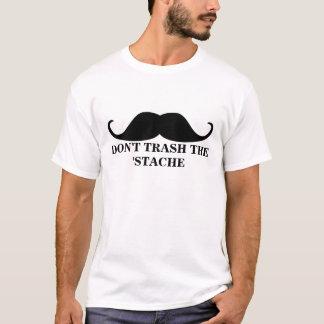Stacheのハンドルバーの髭を処分しないで下さい Tシャツ