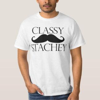 Stacheの上品な髭 Tシャツ