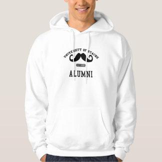 Stacheの髭のTシャツの大学 パーカ