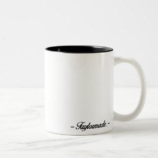 Stache Kittehのマグ ツートーンマグカップ