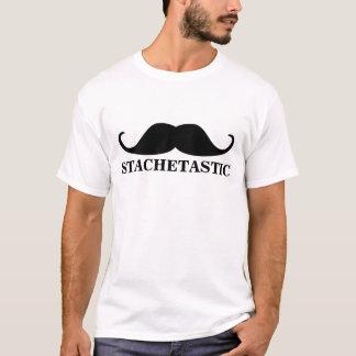 Stachetastic Stacheのハンドルバーの髭 Tシャツ