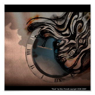Staciパウエルの版権2008-2009年による浮遊物 ポスター