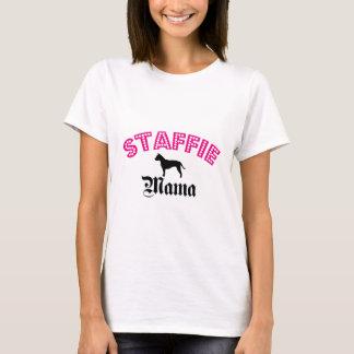 Staffieのママ Tシャツ