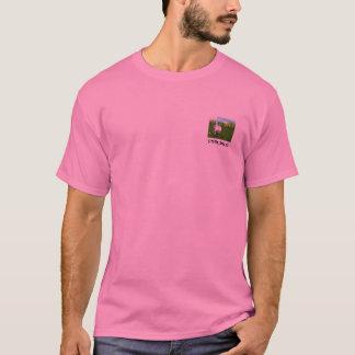 STAFFIEは- -底微笑します! - Tシャツ