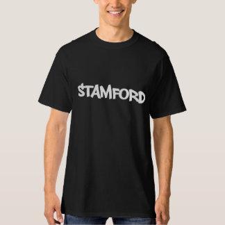 STAMFORDの落書きのスタイルのグラフィックのティー Tシャツ