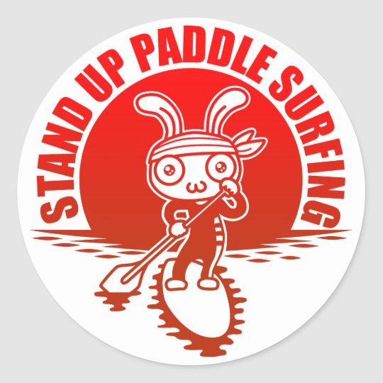 Stand up paddle surfing ラウンドシール