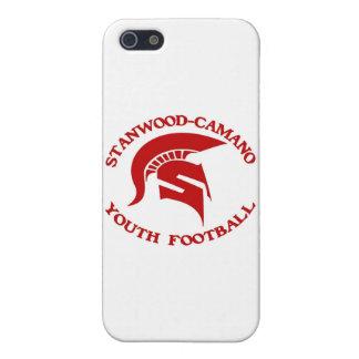 Stanwood Camanoの青年フットボール iPhone SE/5/5sケース