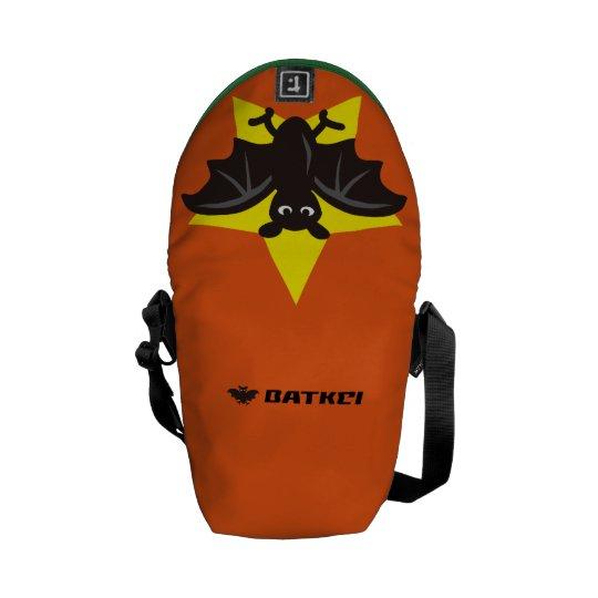Star Bat Orange メッセンジャーバッグ