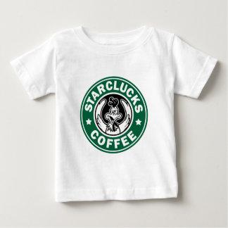 STARCLUCKSのコーヒー ベビーTシャツ