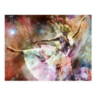 """Stardustで踊ります"" ポストカード"