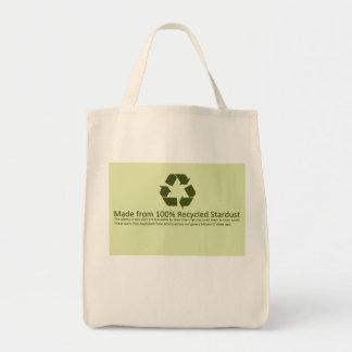 Stardustのリサイクル トートバッグ
