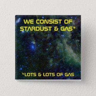 Stardust及びStargas 5.1cm 正方形バッジ