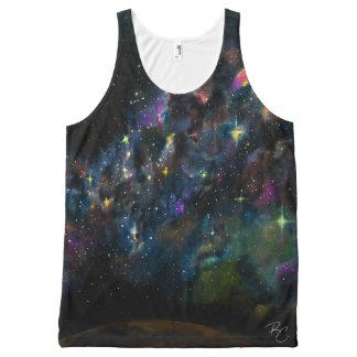 Stardust オールオーバープリントタンクトップ