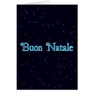 StarfieldのBuon Natale カード