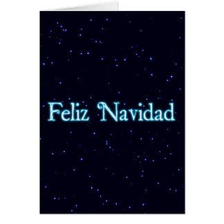 StarfieldのFeliz Navidad カード