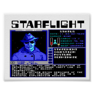 StarFlightポスター ポスター