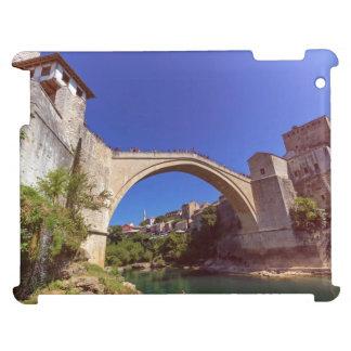 Stari最も、古い橋、モスタル、ボスニアおよびHerzego iPadケース
