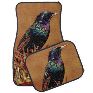 Starlingの鳥のカーマットセット カーマット