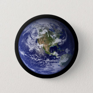 Starshipの地球 5.7cm 丸型バッジ