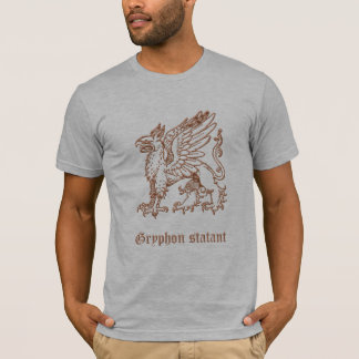 statant Gryphon Tシャツ