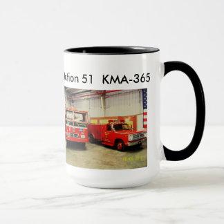 station51コーヒーカップ、分隊およびエンジン両方 マグカップ