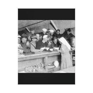 station_WarイメージのA.R.C. Canteenの場面 キャンバスプリント