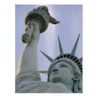 Statuaのdella Libertà自由の女神 ポストカード