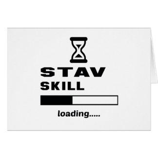 Stavの技術のローディング...... カード