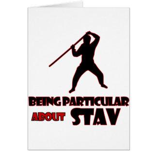 stavの     デザイン カード