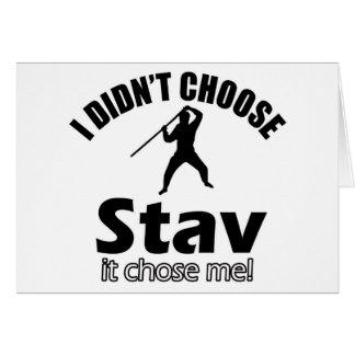 stavを選びませんでした カード