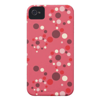 Stawberryの水玉模様のiphone 4ケース Case-Mate iPhone 4 ケース
