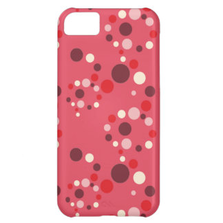 Stawberryの水玉模様のiPhone 5の場合 iPhone5Cケース