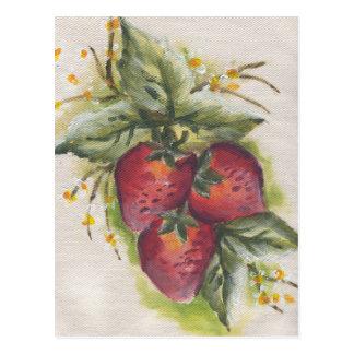 stawberry ポストカード
