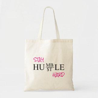 STAY HUMBLE HUSTLE HARD トートバッグ