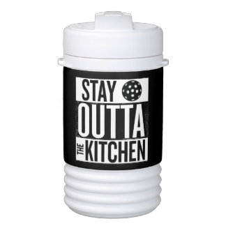 """""""Stay Outta the Kitchen"""" Pickleball Water Jug ドリンククーラー"""