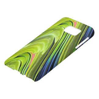 STaylor著黄色いNapedアマゾンオウムの羽 Samsung Galaxy S7 ケース