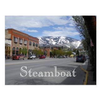 Steamboat Springsコロラド州の郵便はがき ポストカード