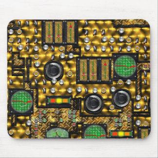 SteamControl -黄銅 マウスパッド